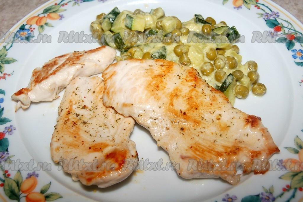 гарниры к курице рецепты с фото простые