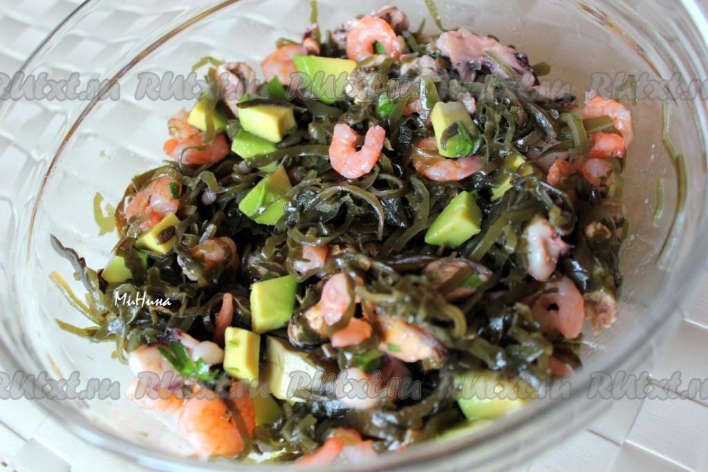 Как сделать салаты из морской капусты 921