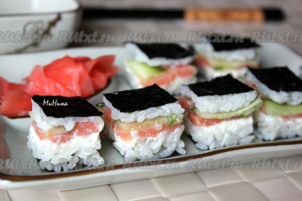 суши торт рецепт простой