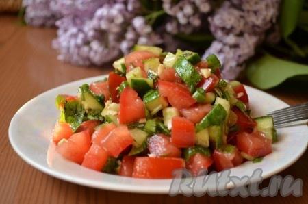 Иранский салат с мятой