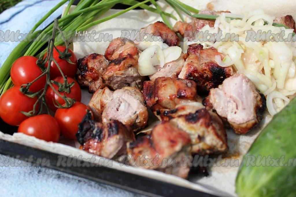 Как приготовить лук к шашлыку из свинины