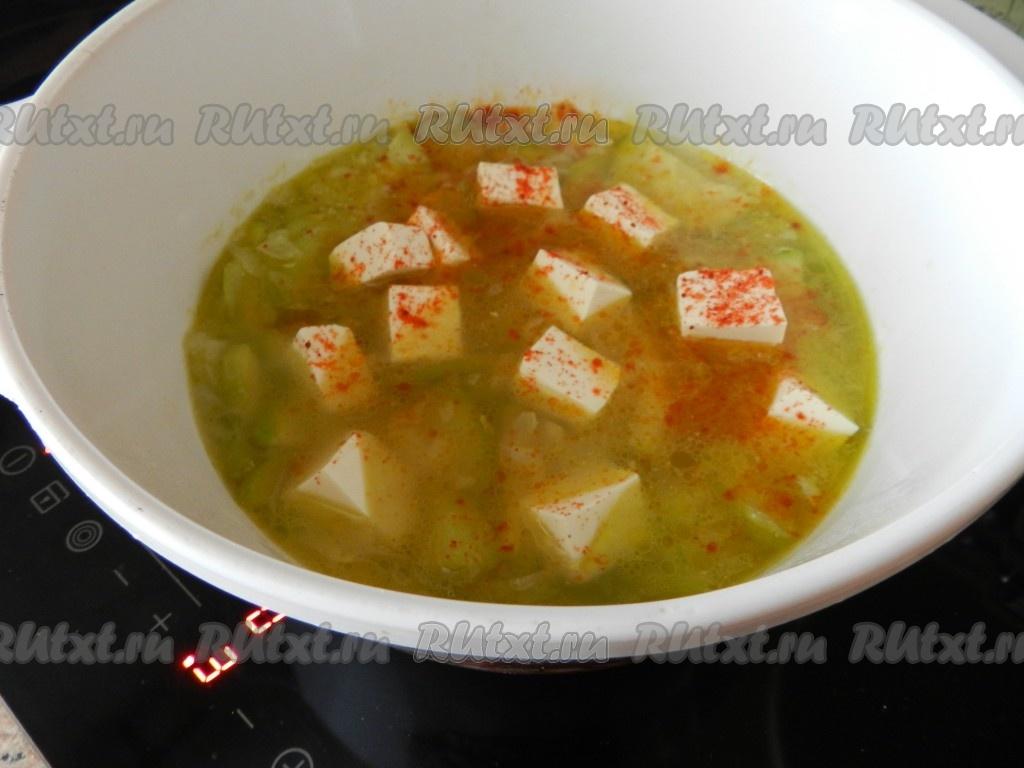 Суп-пюре из кабачков