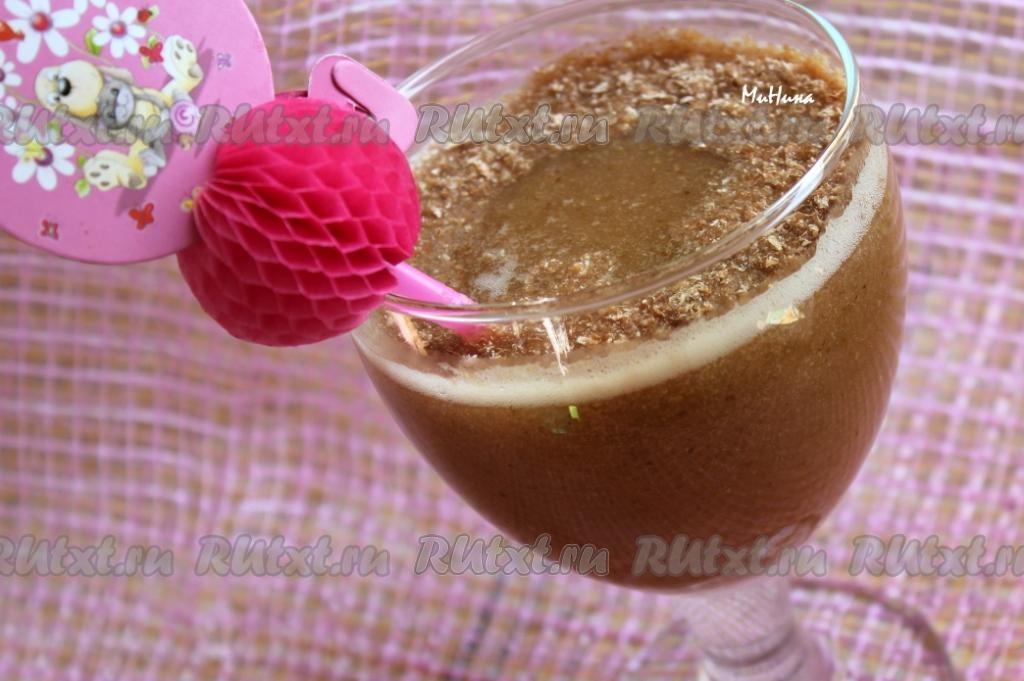 Фруктовые. коктейли в блендере рецепты с фото