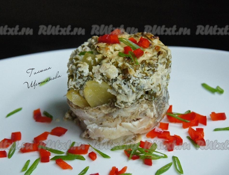 рыба под шубой салат рецепт в духовке