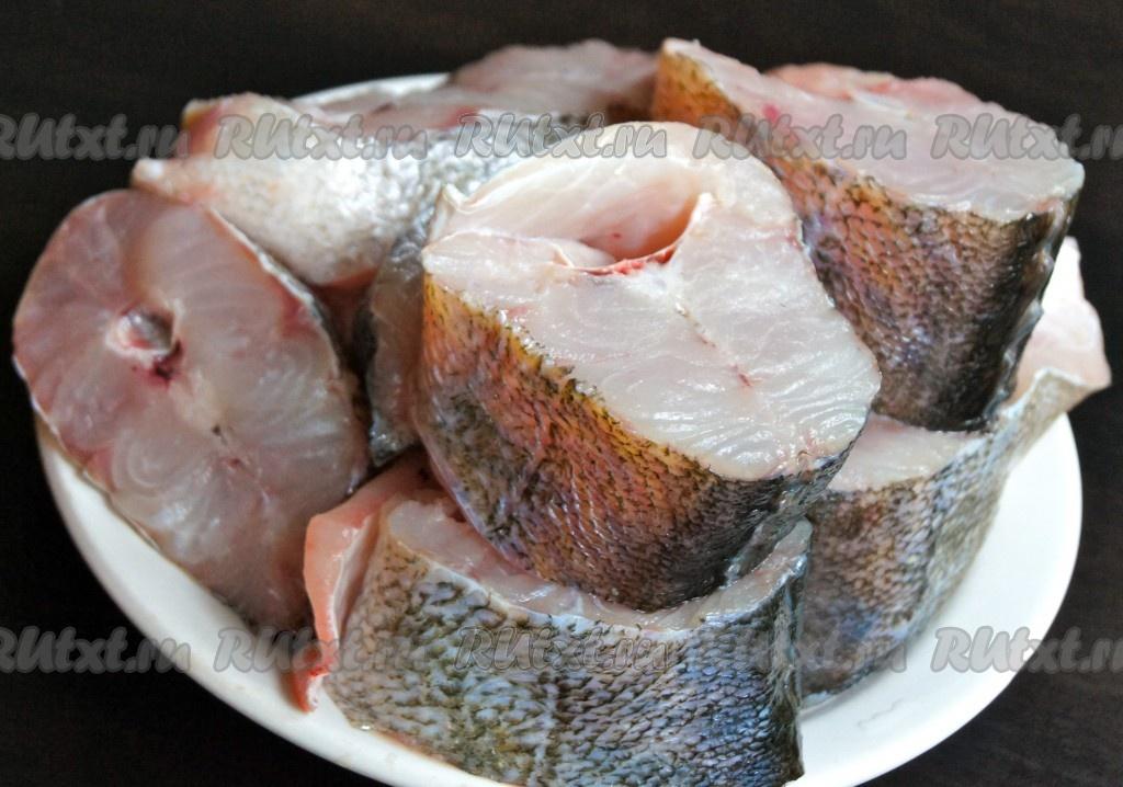 Рыба в духовке кусочками рецепт