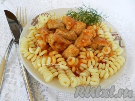жареное мясо с помидорами рецепты