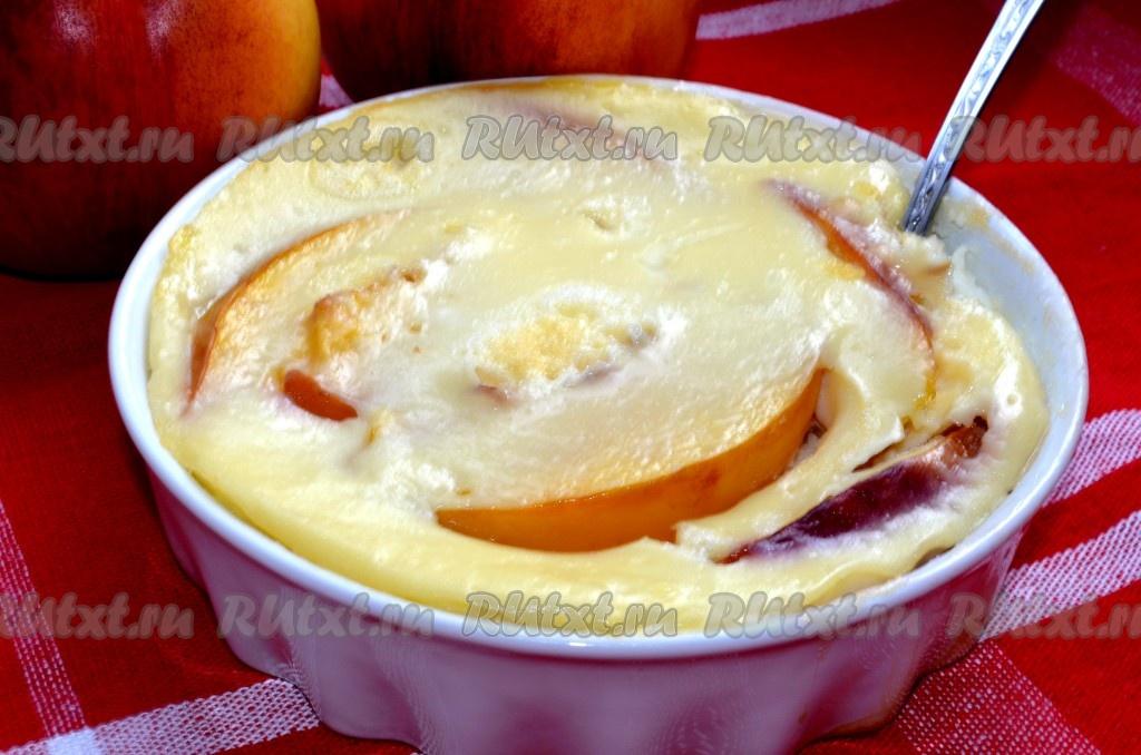 Рецепт кекса с яблоками в духовке
