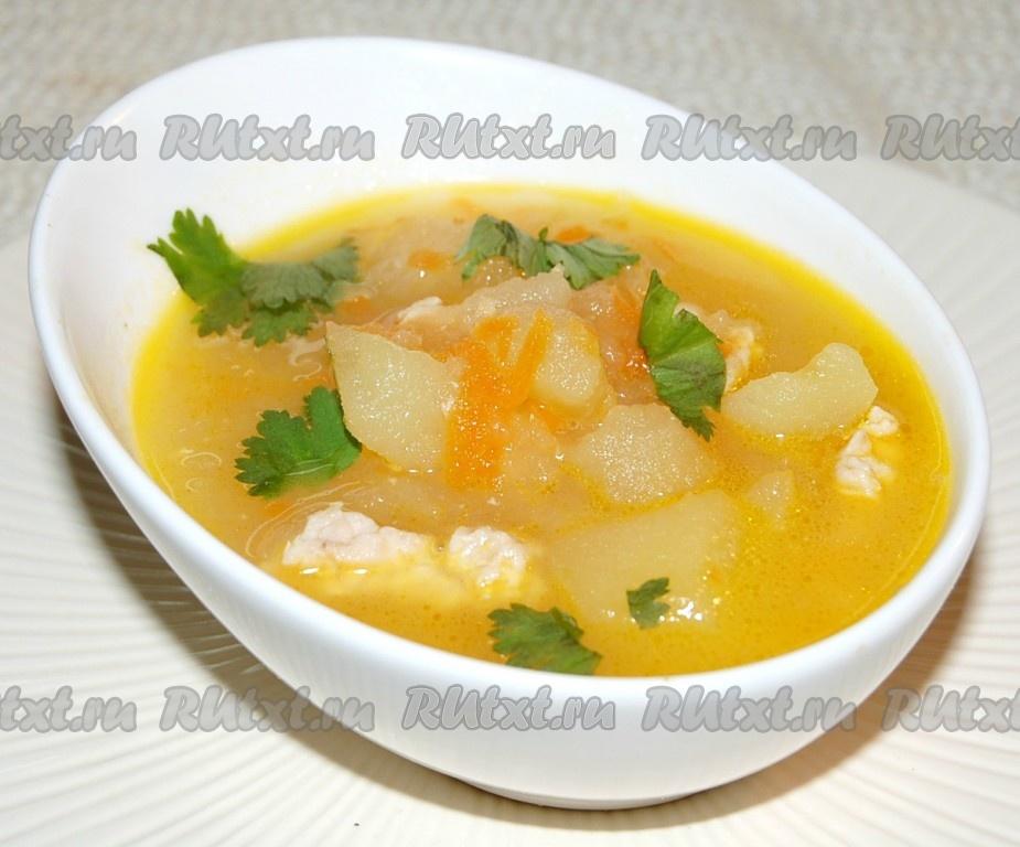 суп с индейкой рецепт с фото
