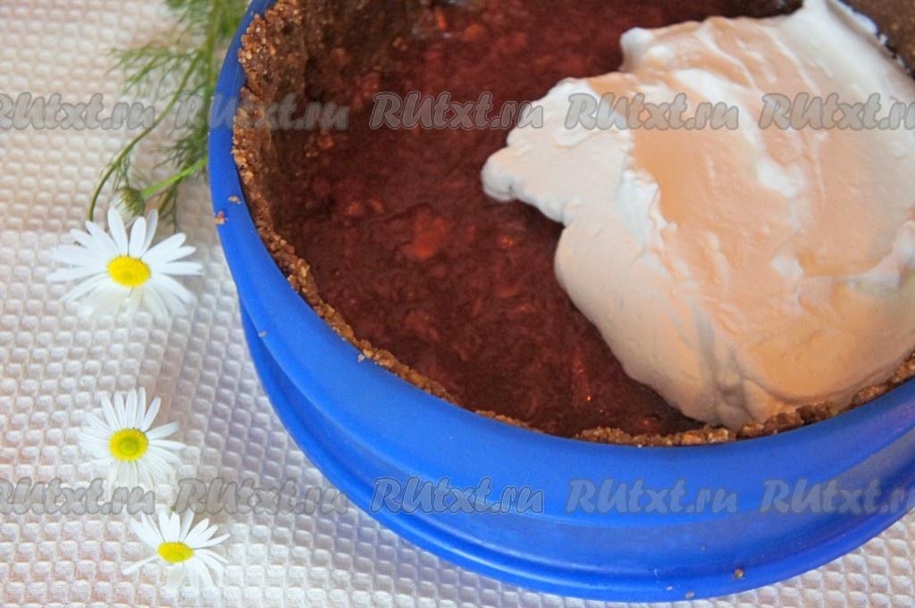 Торт без выпечки и сливок