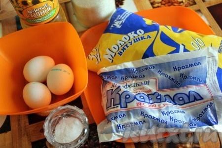 Ингредиенты для блинов без муки.