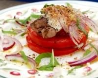 Кабачок с чесноком и помидорами в духовке рецепт