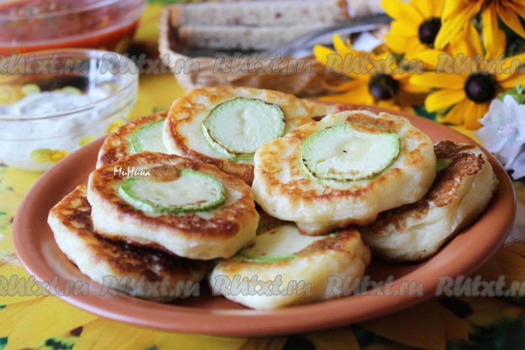оладьи кабачковые на кефире пышные рецепт с фото