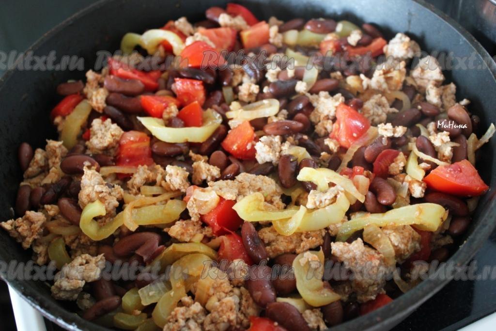Блюдо из красной фасоли с мясом рецепты с фото