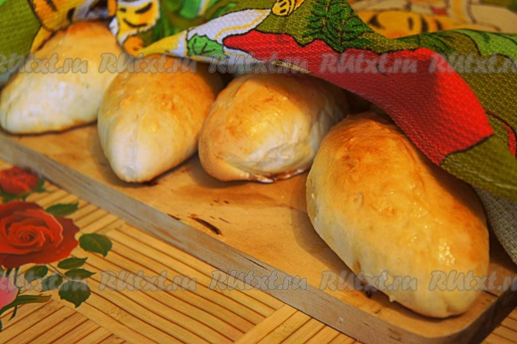 рецепт приготовления пирожков с фаршем в духовке