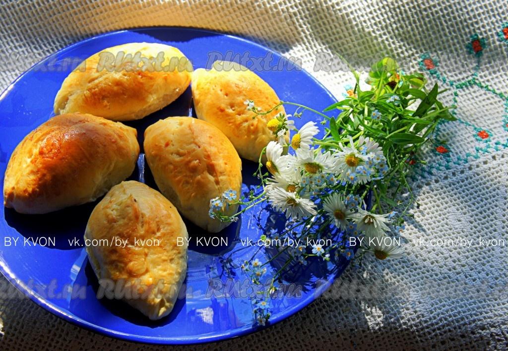 рецепты пирожков в духовке с капустой и яйцом