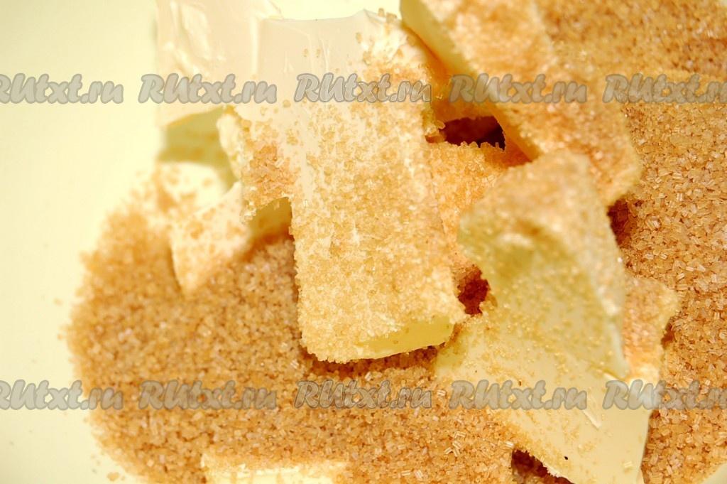 Кекс на сметане и сливочном масле