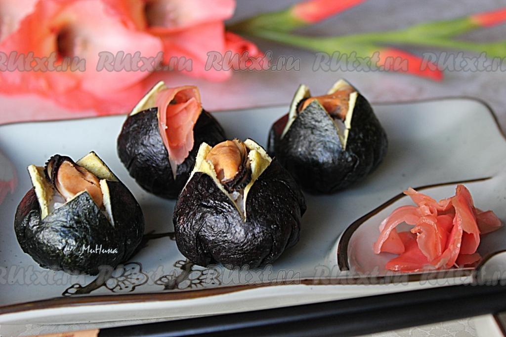 салат как суши рецепт с фото