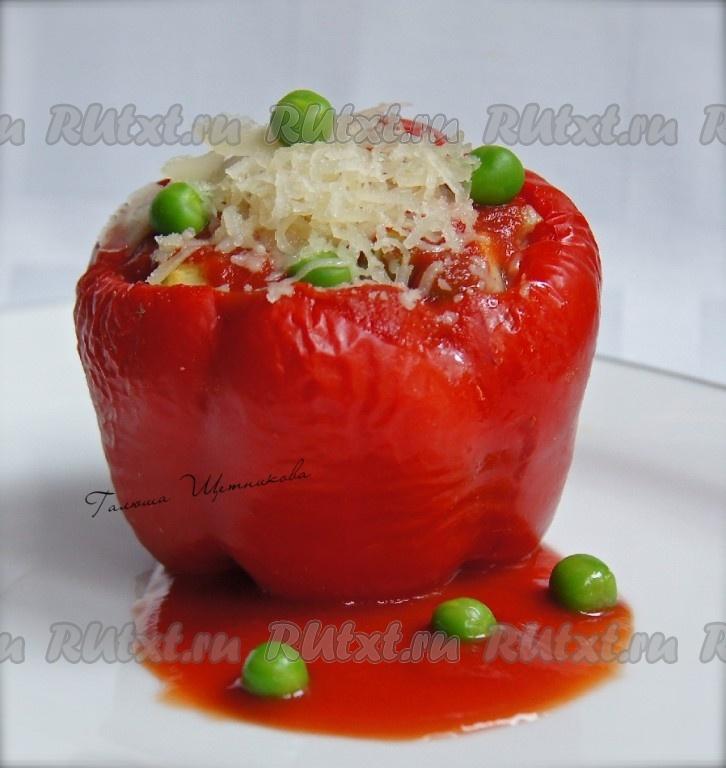рецепт приготовления перцев с овощами