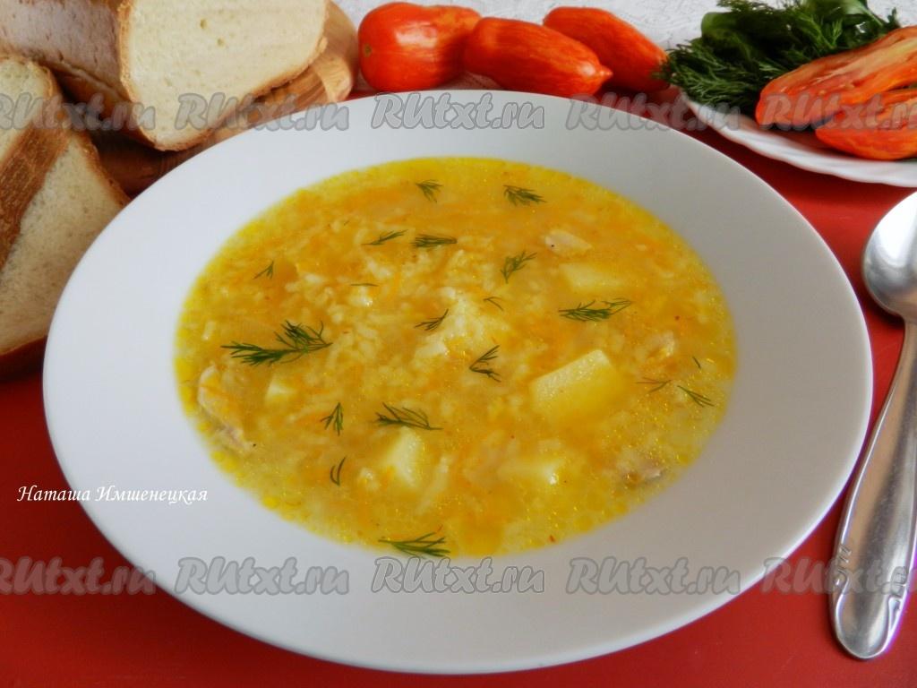 рецепт рисового супа с сосисками