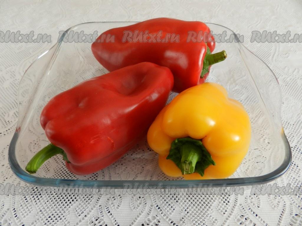 рецепт перцев запеченных в духовке на зиму