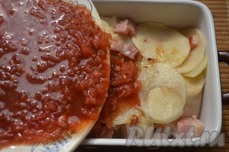запеченная картошка с курицей в духовке в фольге рецепт с фото с #6