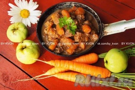 Говядина кормящей маме - можно ли (телятина, блюда, суп ...