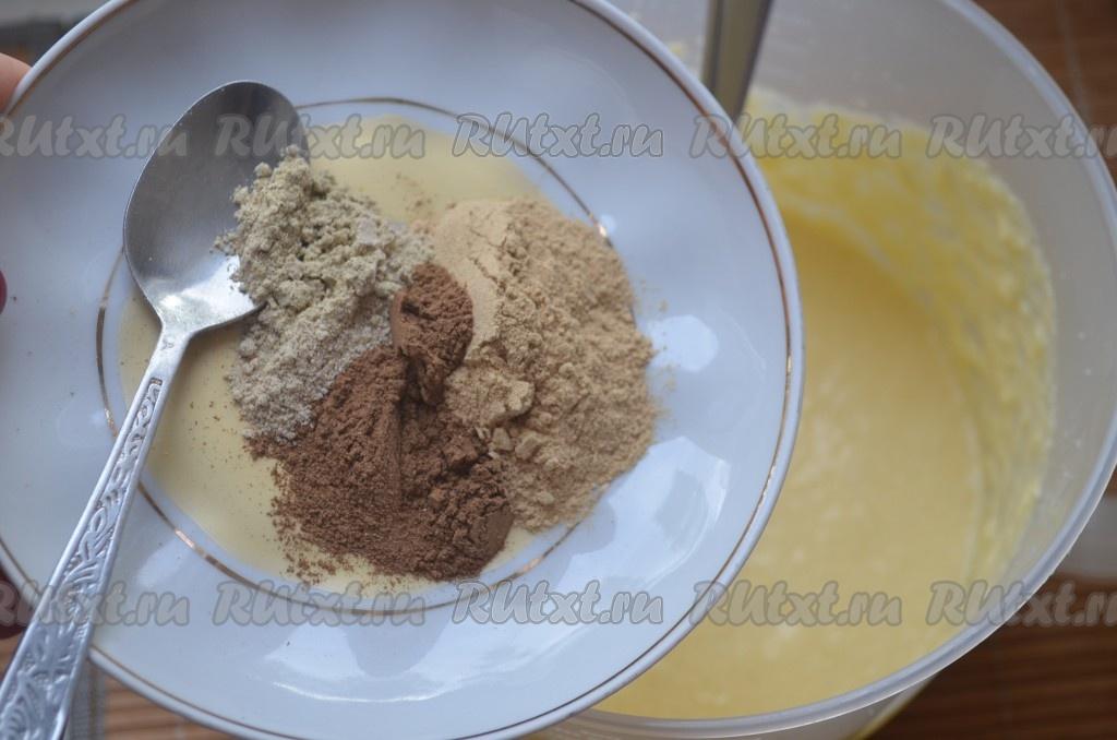 рецепт пирога на сметане в духовке рецепт