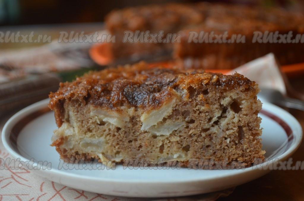 рецепт необычного яблочного пирога