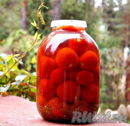 Засолка помидоров на зиму холодным способом