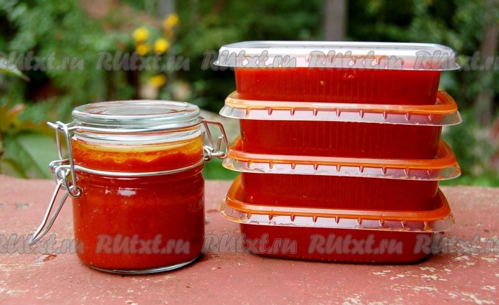 рецепт приготовления томатной пасты в дом условиях на зиму