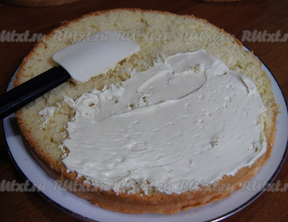 Крем для бисквит рецепт с фото пошагово