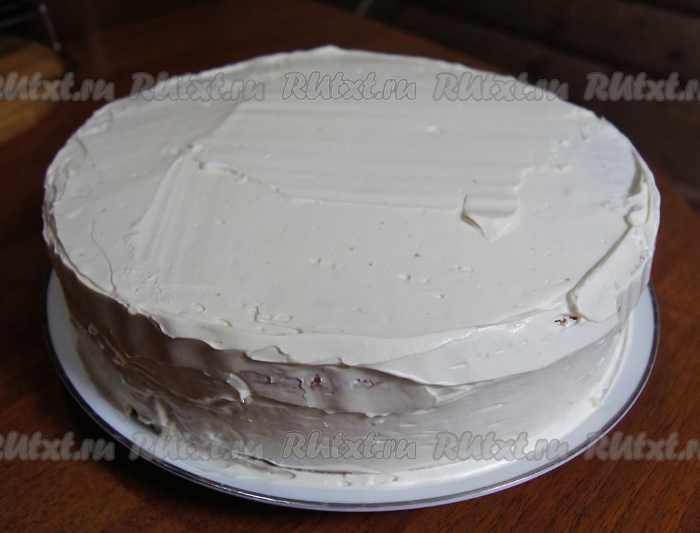 рецепт бисквита классического для торта с фото в домашних условиях