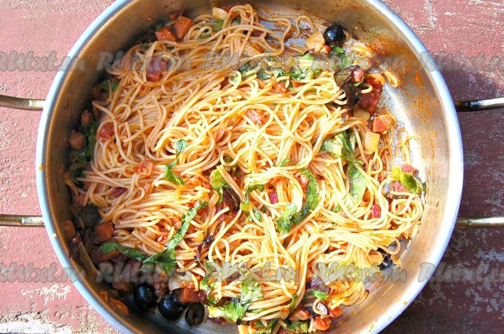 Как вкусно приготовить спагетти