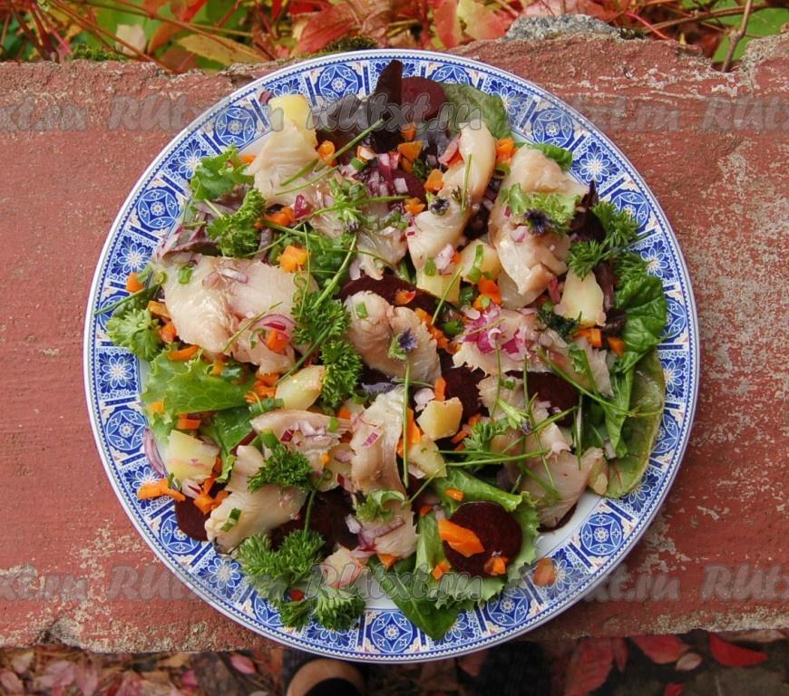 Рецепт блюда с рыбой