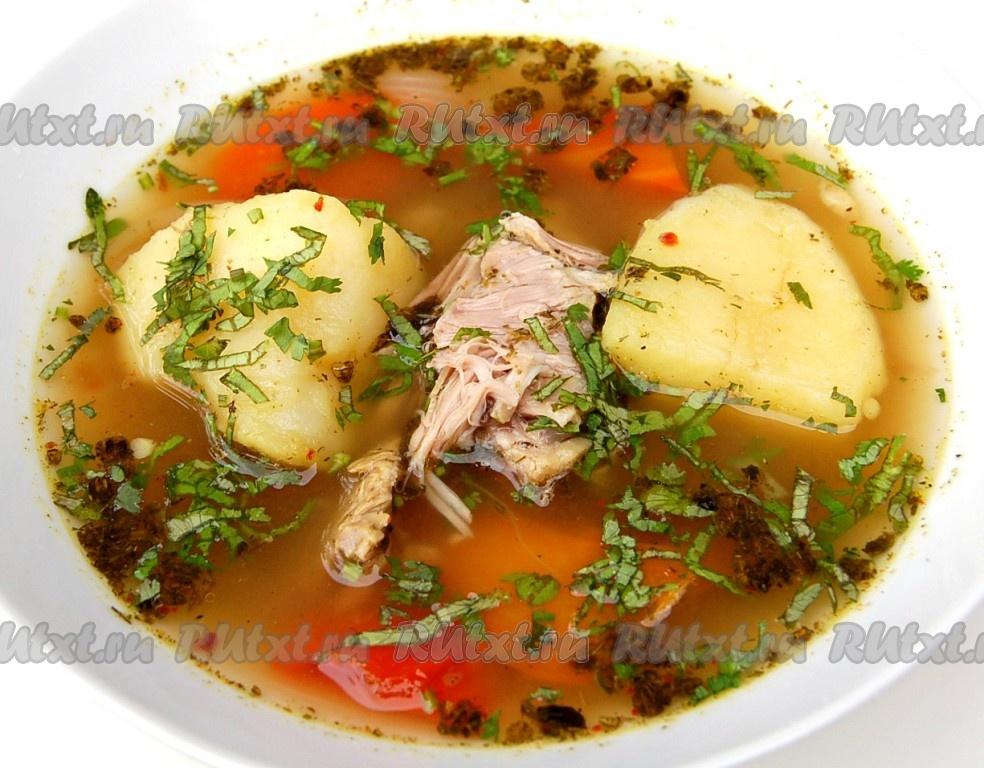 рецепт супа из баранины шурпа в мультиварке