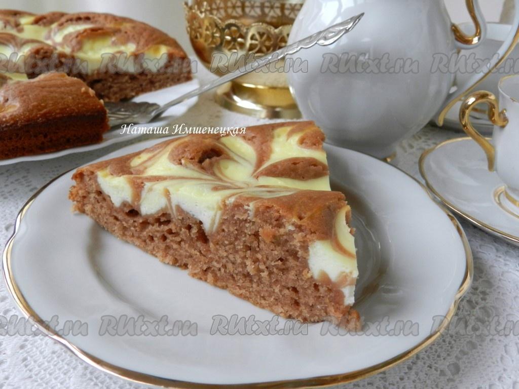 пирог рецепт с какао