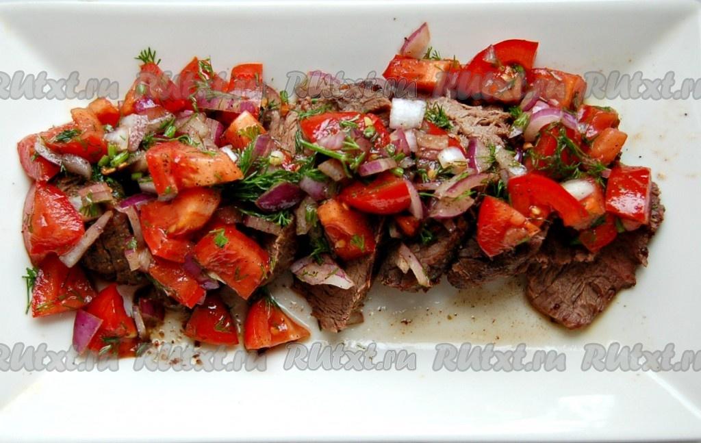 Салат из жареных баклажанов рецепты