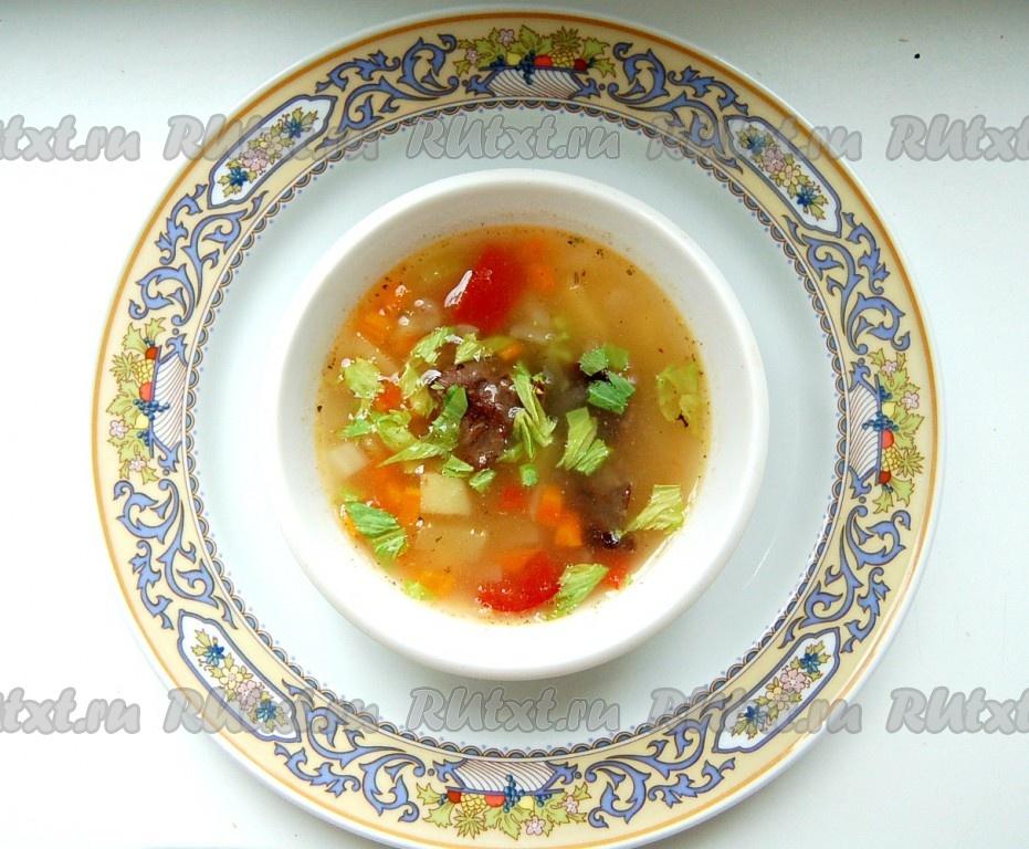 как приготовить прстой суп с мясом