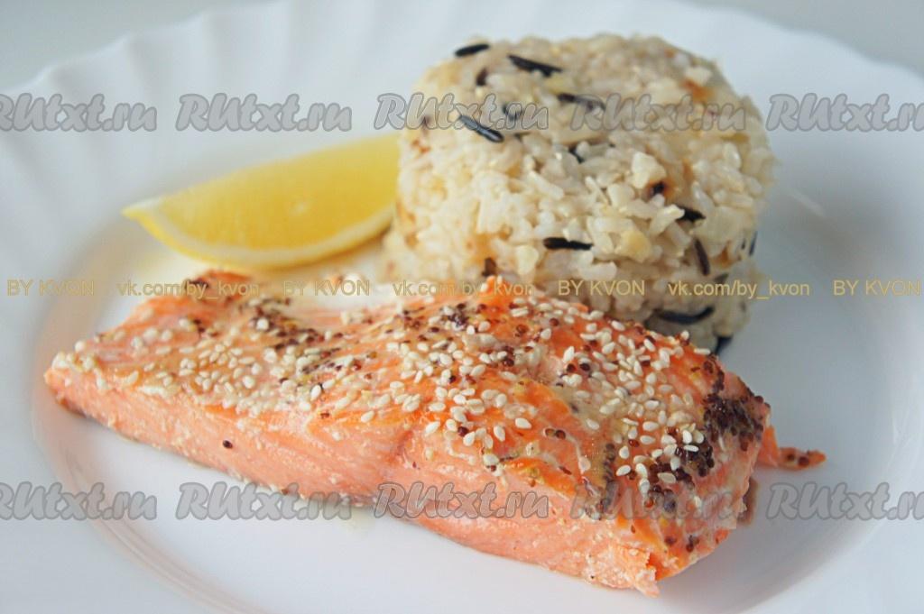 Рецепт приготовления риса на гарнир к рыбе с фото смирнов самогон оборудование и рецепты домашнего приготовления