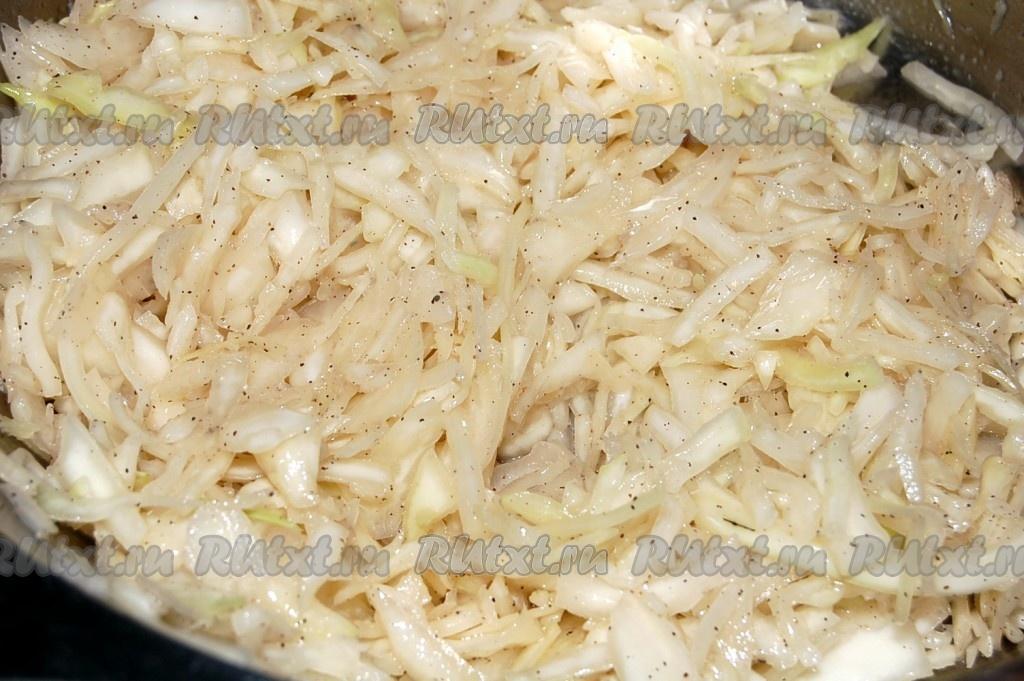 зимний салат из капусты рецепт с