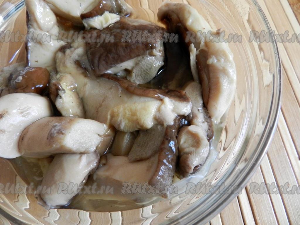 Как сделать подлив из белых грибов