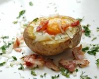 сосиски в картошке в духовке рецепт с фото