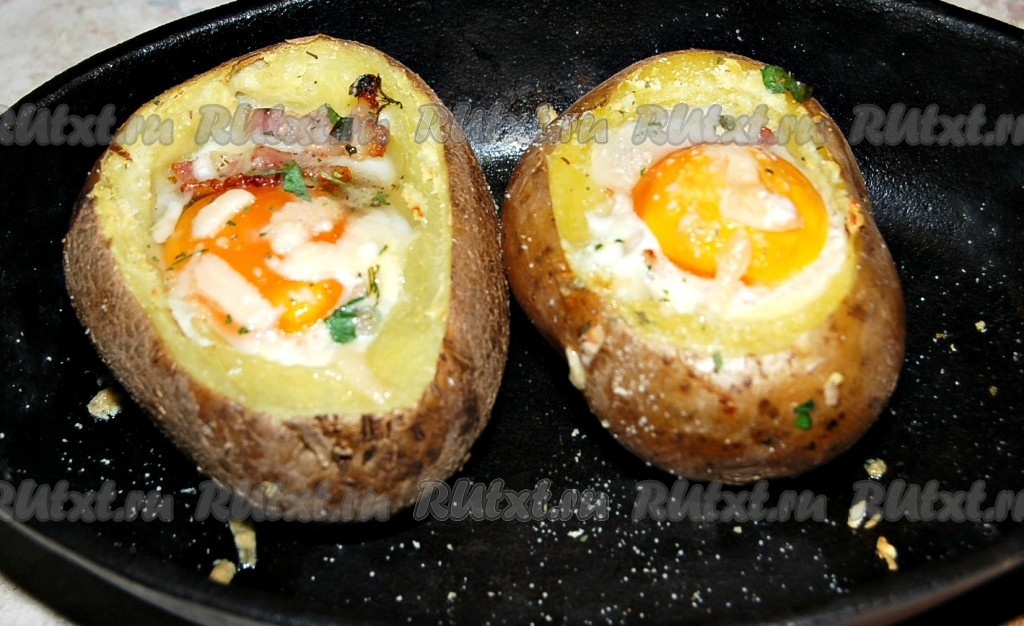 Рецепт фаршированный картофель с фаршем в духовке с пошагово с картофелем