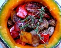 Блюда из запеченной тыквы от наших кулинаров