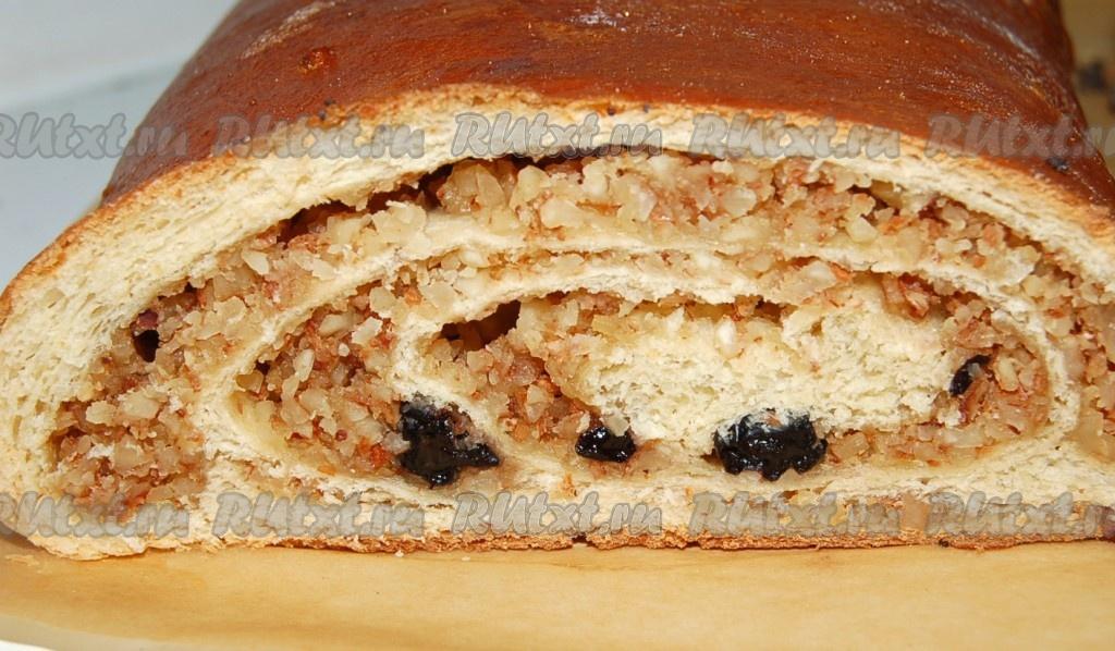 рулет орехами рецепт с фото