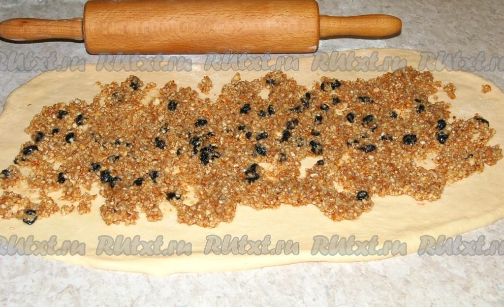 Как сделать ореховую начинку
