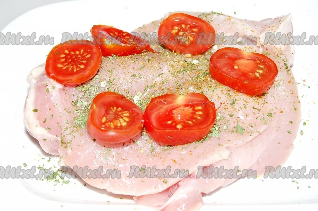 Рецепт фаршированной грудки куриной с фото