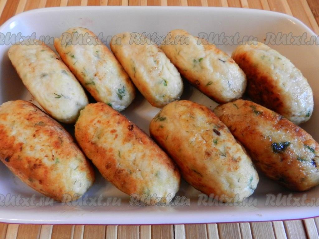 котлеты с сыром и картошкой в духовке