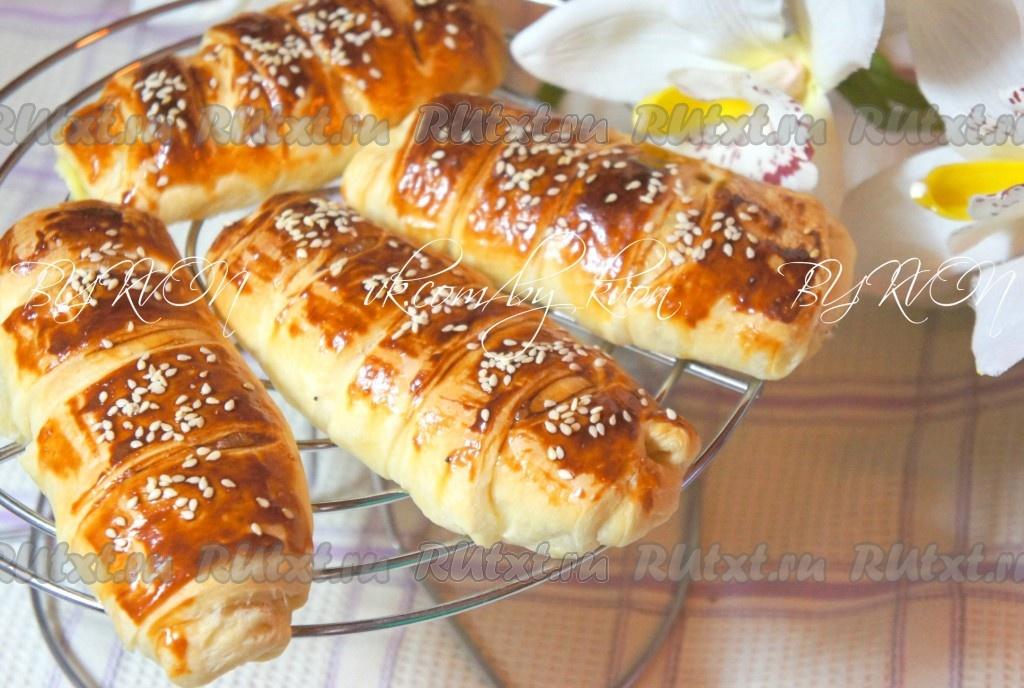 Рецепты пирогов и печенья из слоеного теста