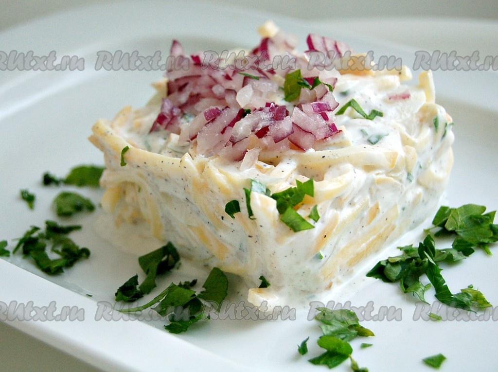 салат из репы рецепты с фото